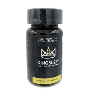 Kingsley - CBD Soft Gels - Full Spectrum Gelcaps 30 Count - 900mg