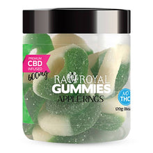 Load image into Gallery viewer, RA Royal CBD - CBD Edible - Apple Ring Gummies - 300mg-1200mg