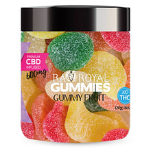 Load image into Gallery viewer, RA Royal CBD - CBD Edible - Gummy Fruit Gummies - 300mg-1200mg