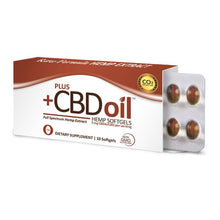 Load image into Gallery viewer, PlusCBD Oil - CBD Softgels - Raw Blend Full Spectrum - 5mg