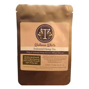 Tranquility Tea Company - CBD Tea - Wallowa White - 50mg