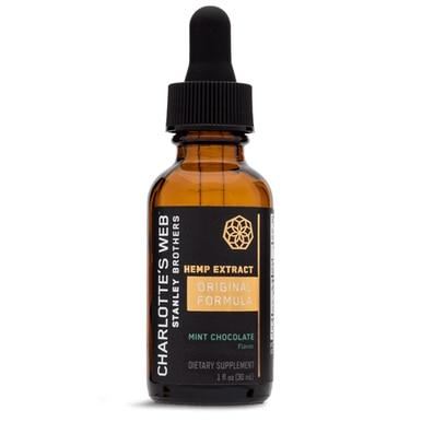 Charlottes Web - CBD Tincture - Original Formula Mint Chocolate - 50mg/1mL