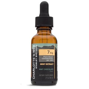 Charlottes Web - CBD Tincture - Full Spectrum Mint Chocolate - 7mg/1mL