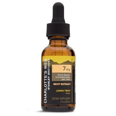 Charlottes Web - CBD Tincture - Full Spectrum Lemon Twist - 7mg/1mL