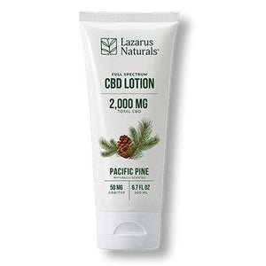 Lazarus Naturals - CBD Topical - Pacific Pine Lotion 300mg-2000mg