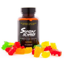 Load image into Gallery viewer, Sunday Scaries - CBD Edible - Broad Spectrum Gummies w/Vitamins B12 & D3 - 10mg