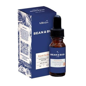 Bean & Bud - CBD Tincture - French Vanilla Coffee Booster - 600mg