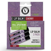 Load image into Gallery viewer, Veritas Farms - CBD Topical - Full Spectrum Cherry Lip Balm - 25mg