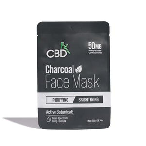 CBDfx - CBD Face Mask - Charcoal - 50mg