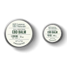 Load image into Gallery viewer, Lazarus Naturals - CBD Topical - Unscented Full Spectrum Balm - 300mg-1200mg