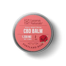 Load image into Gallery viewer, Lazarus Naturals - CBD Topical - Portland Rose Full Spectrum Balm - 300mg-1200mg