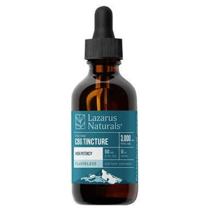 Lazarus Naturals - CBD Tincture - Flavorless High Potency CBG Isolate 750mg-3000mg