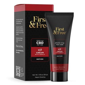 First & Free - CBD Topical - Motion Cream - 2500mg