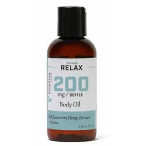 Receptra Naturals - CBD Topical - Full Spectrum RELAX Body Oil - 200mg-400mg