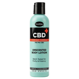 ShiKai - CBD Topical - Unscented Body Lotion - 125mg-750mg