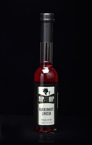 Blackcurrant Liqueur - Infused with Gin Medium 200ml