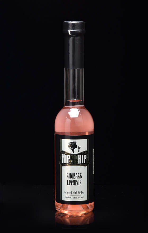 Rhubarb Liqueur - Infused with Vodka Medium 200ml