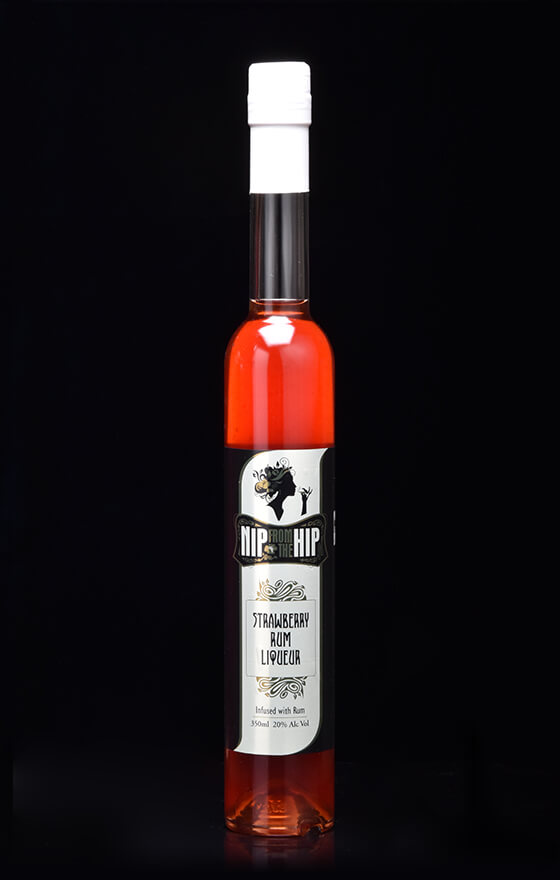 Strawberry Rum Liqueur - Infused with Rum Large 350ml