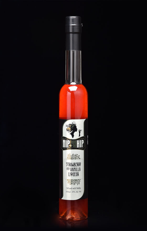 Strawberry & Vanilla Liqueur - Infused with Vodka Large 350ml