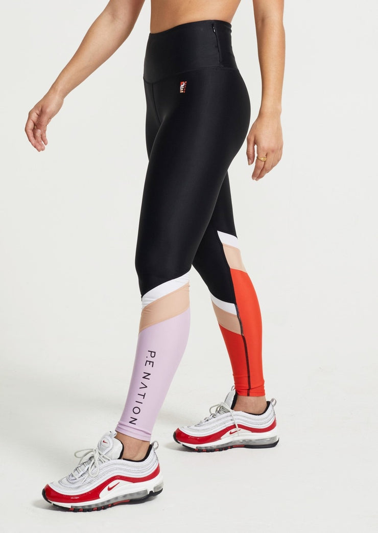 PE NATION Fast Break Leggings