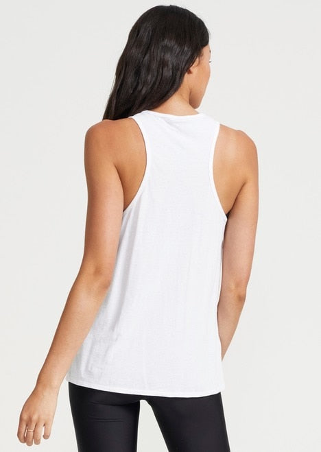 PE NATION BASELINE Endurance Tank White