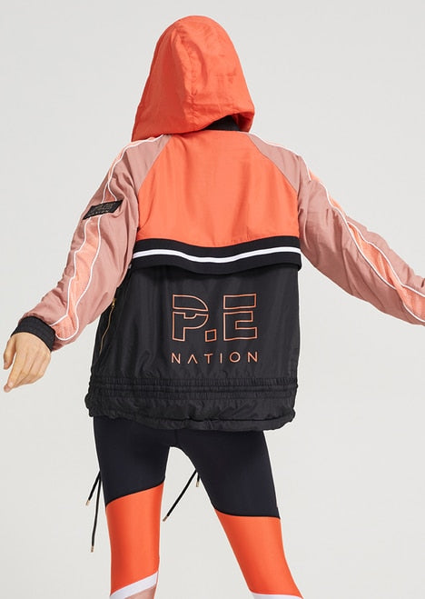 PE NATION Man Down Jacket Rose Dawn