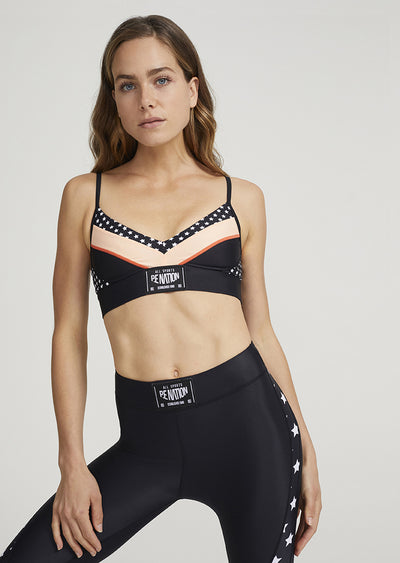 PE NATION Off Side Sports Bra