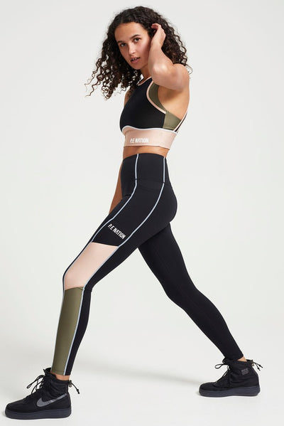 PE NATION Fast Lane Leggings
