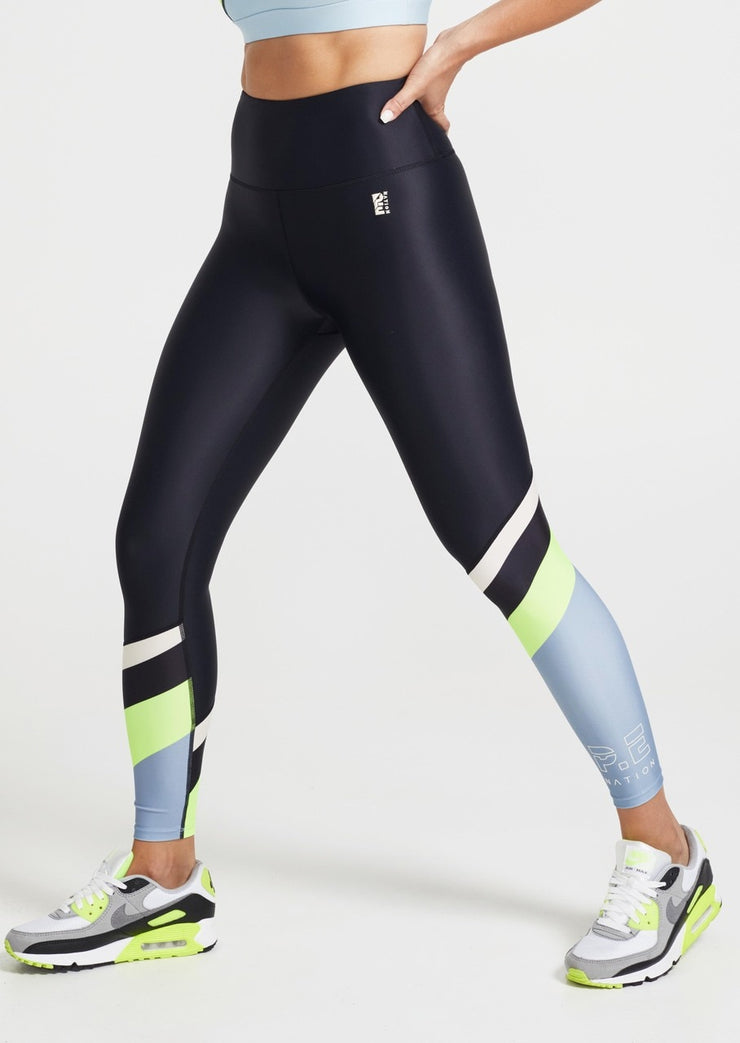 PE NATION First Position Leggings