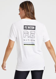 PE NATION In Goal Tee