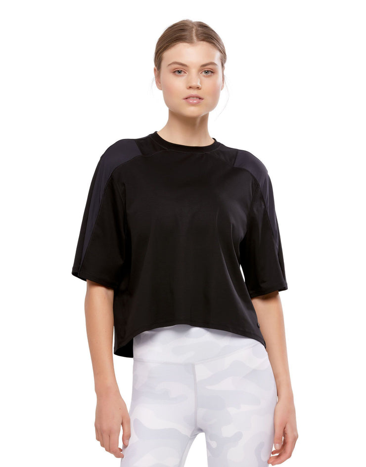 LILYBOD Cali Top - Graphite Black