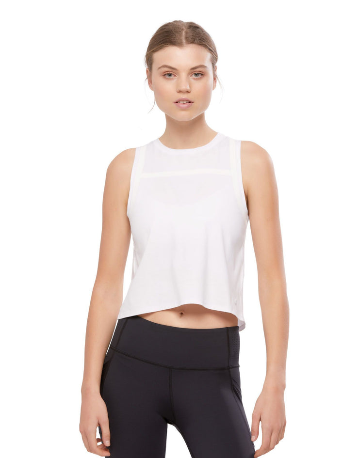 LILYBOD Charlie Top - Bright White