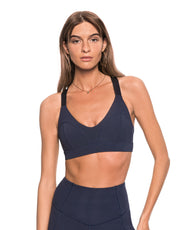 LILYBOD Liza Sports Bra - Blue Eclipse