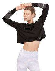 LILYBOD Margo Top - Graphite Black