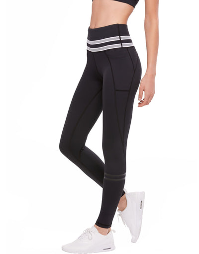 LILYBOD Pipa Leggings - Phantom Jet