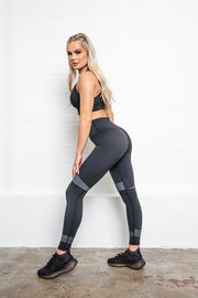 LILYBOD Sophia Leggings - Phantom Black