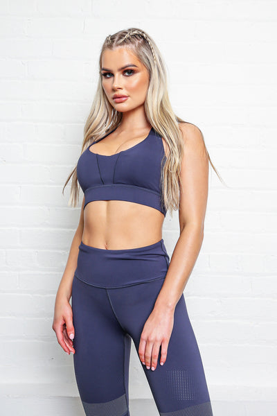 LILYBOD Bridgette Sports Bra - Grey Stone