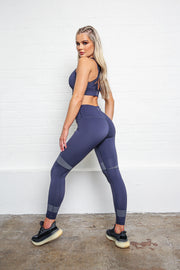 LILYBOD Sophia Leggings - Grey Stone