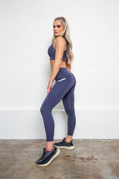 LILYBOD Phoebe XR Leggings - Grey Stone