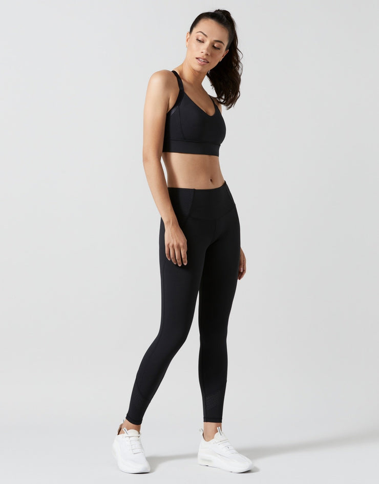 LILYBOD Izzy Sports Bra - Black