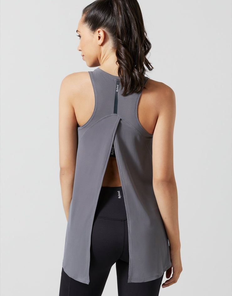 LILYBOD Kendall Vest - Charcoal X