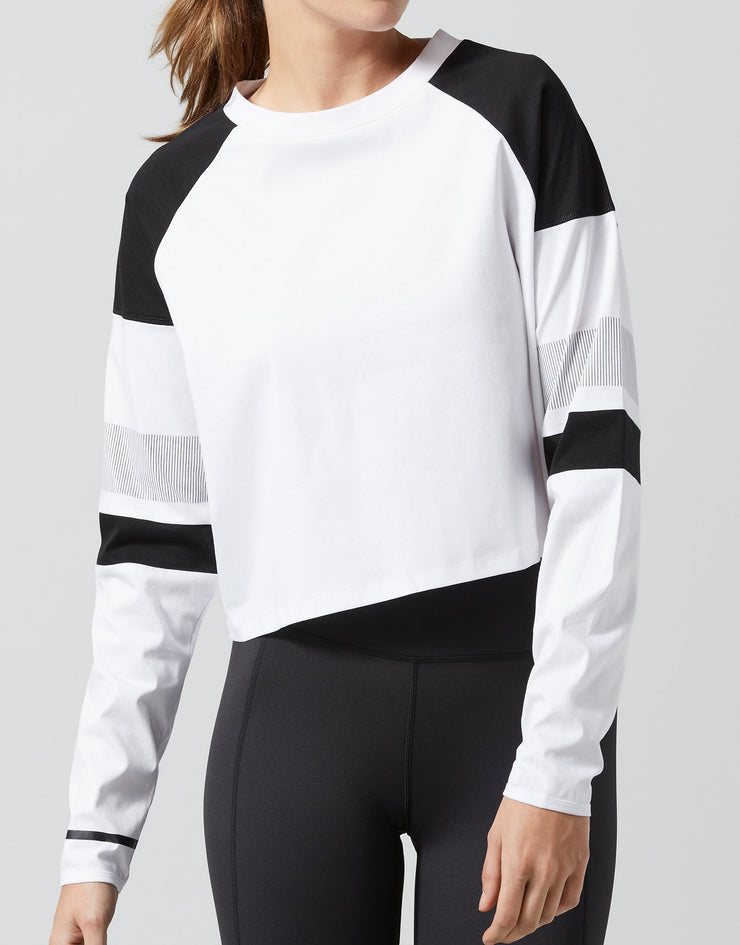 LILYBOD Lissara Top - White / Black