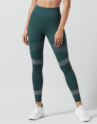 LILYBOD Piper Leggings - Smoke Green