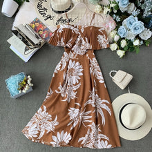 Load image into Gallery viewer, Floral Print Women Dress