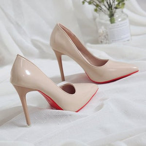 Bed high heels fun one-time fun high-heeled shoes