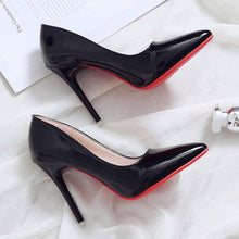 Load image into Gallery viewer, Bed high heels fun one-time fun high-heeled shoes