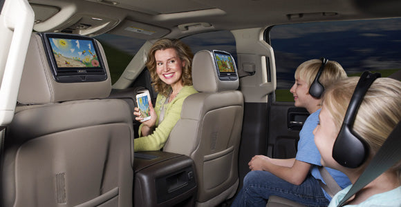 Wireless Headphoens for your tahoe suburban yukon or honda odyssey