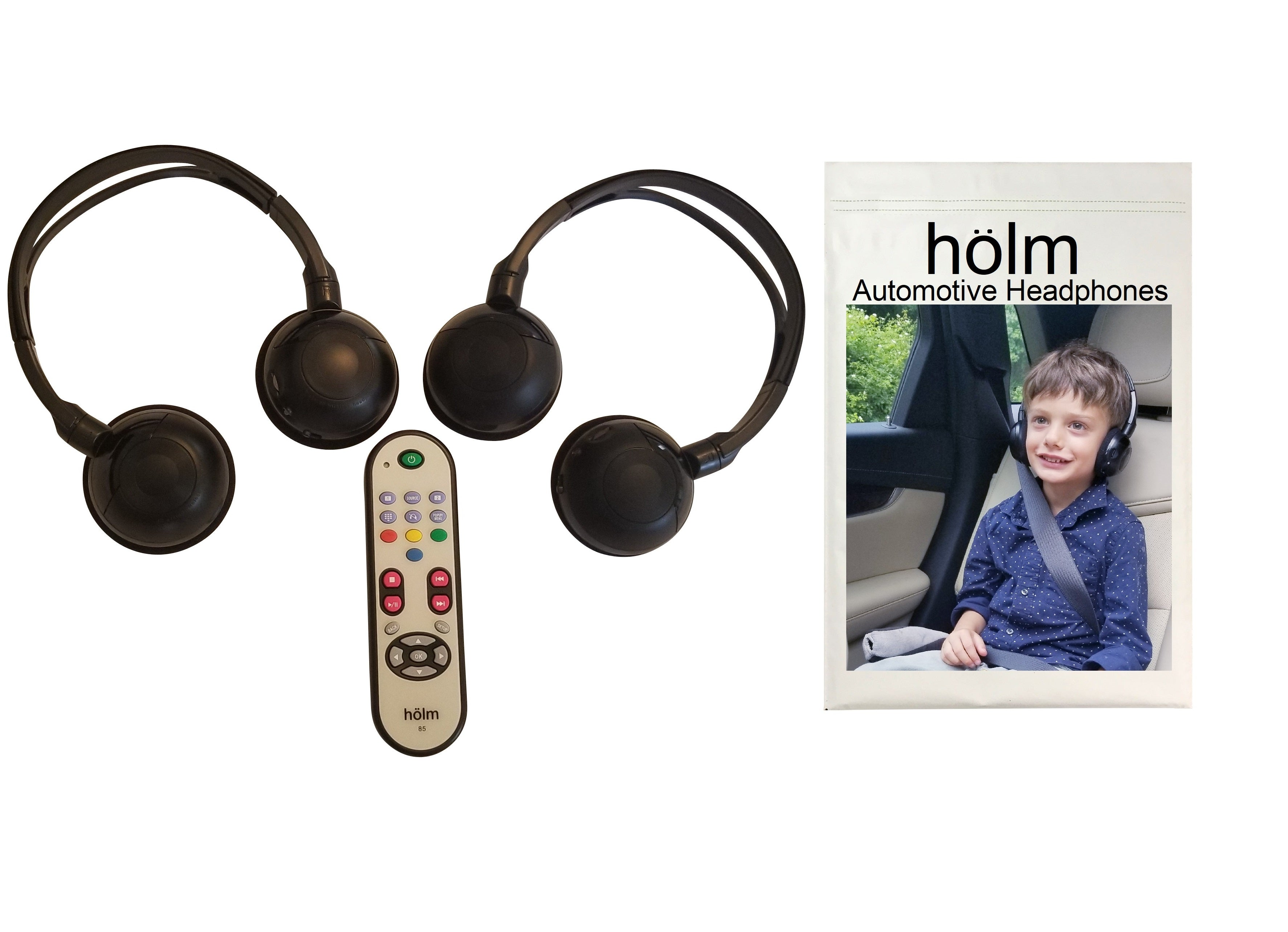 2014 Chrysler Town and Country Wireless DVD Headphones and Uconnect Remote