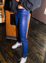 Load image into Gallery viewer, Blue Dragon Leggings