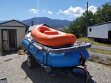 14' Raft with 9' Raft, stacked - Large Cover